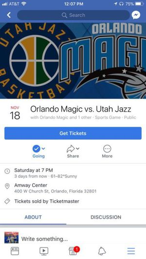 Orlando Magic vs Jazz