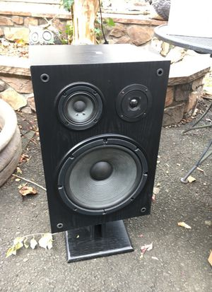 Yahama floor speakers