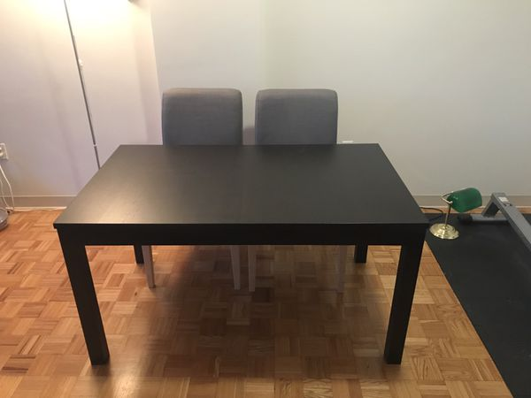 IKEA Bjursta Extendable Dining Room Table