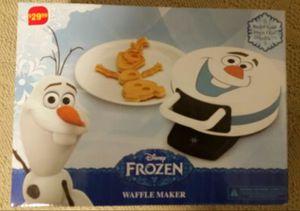 New in box frozen waffle maker