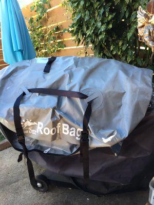 Rooftop luggage bag