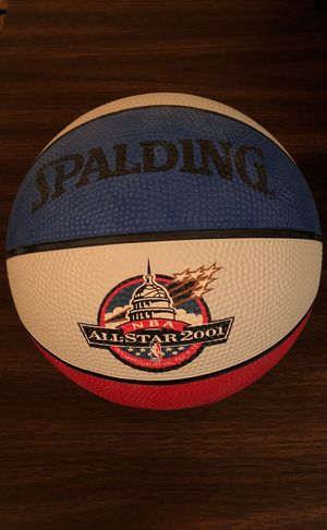 2001 NBA All Star Game Mini Collectible Basketball from Game Held in Washington, DC