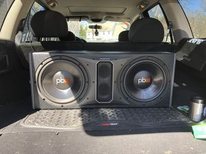 power bass subwoofers and power bass amp