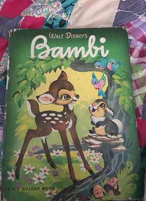 Antique Bambi book