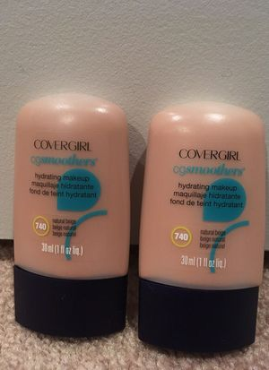 Set of 2 Covergirl Smoothers hydrating makeup