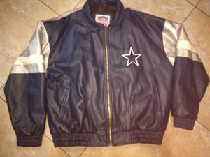Cowboys NFL Game Day Leather Jacket