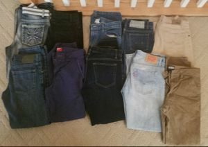 14 pairs of boys jeans
