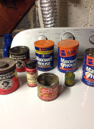 Vintage cans good condition