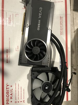 Evga GeForce gtx 1080 FTW hybrid 8gb