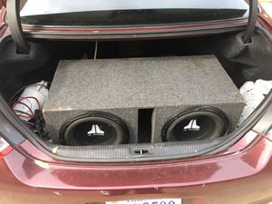 2 12 jl audio in ported box with jl amp