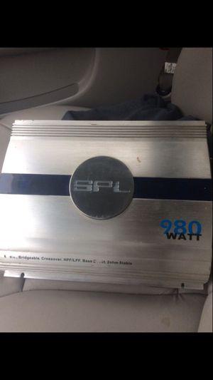 980 watt amp