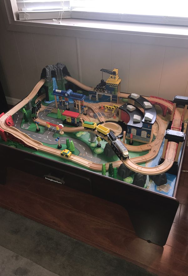 Sophisticated Imaginarium Rocky Mountain Train Table Images - Best ...