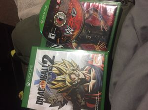 Dbz Xenoverse 2 and WWE 2k17