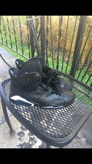 BlackCat Jordan 6s - Size 9