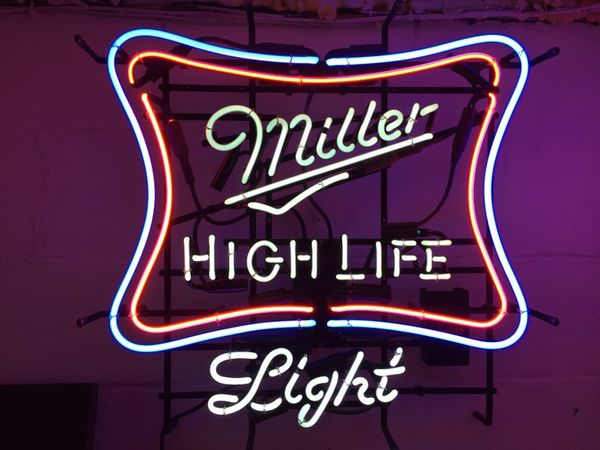 Miller high lifelight bar neon collectibles in pittsburgh pa miller high lifelight bar neon aloadofball Choice Image