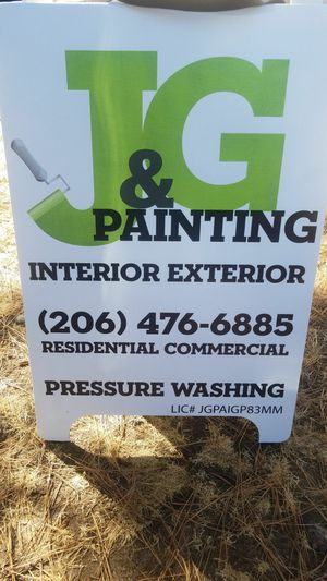 Painting services and moore