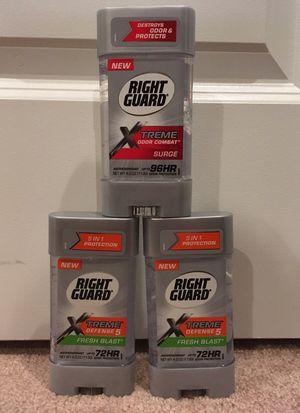 Right Guard Xtreme antiperspirant/deodorant