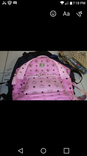 Authentic MCM Pink Book Bag