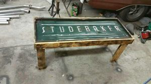 Vintage c1940 Jeep grill table Furniture in Northglenn CO