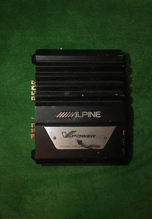 Alpine V-Power 2/1 Channel Power Amplifier MPR-T220