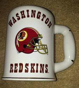 Redskins collector's mug