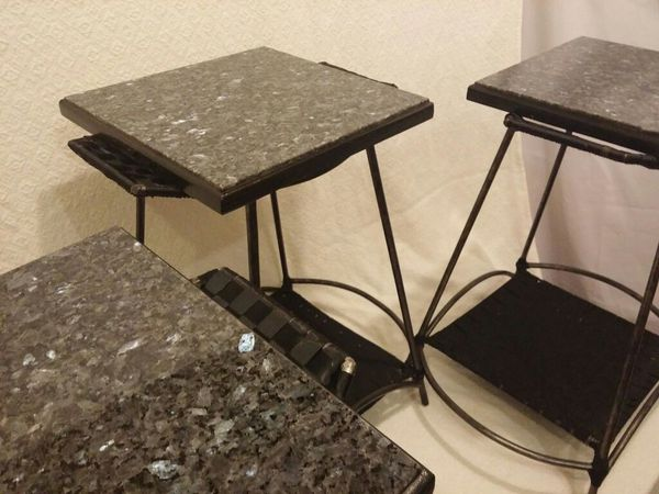 Marble top side tables furniture in federal way wa for Furniture federal way