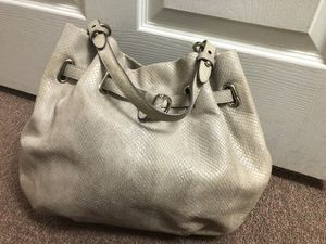 Cole Haan beige purse good condition