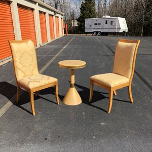Nice Accent Chairs and Table