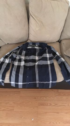 Real Burberry Long Sleeve Button Up