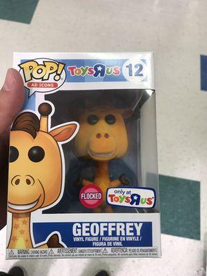 Geoffrey Toys R Us Pop flocked