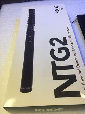 Shotgun Microphone Rode NTG2