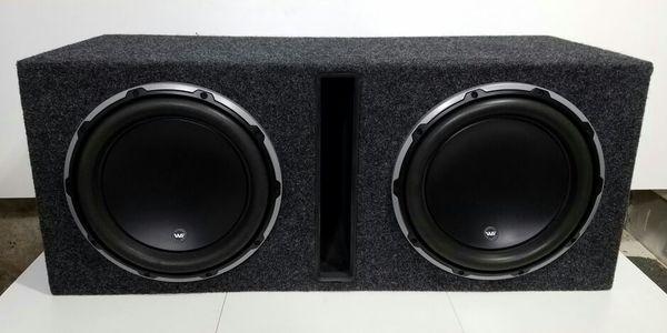 2400 watt jl audio 12w6v2ported box audio equipment in new 2400 watt jl audio 12w6v2ported box sciox Images