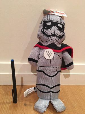 Star Wars Stormtrooper Bottle Cruncher Dog Toy New