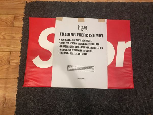 SUPREME/EVERLAST EXERCISE MAT🔥🥊