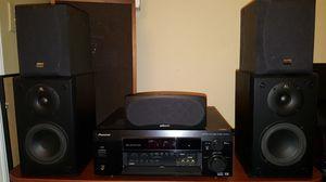 LOUD 5.1 Speaker Surround Sound Set and subwoofer - NICE sound !!