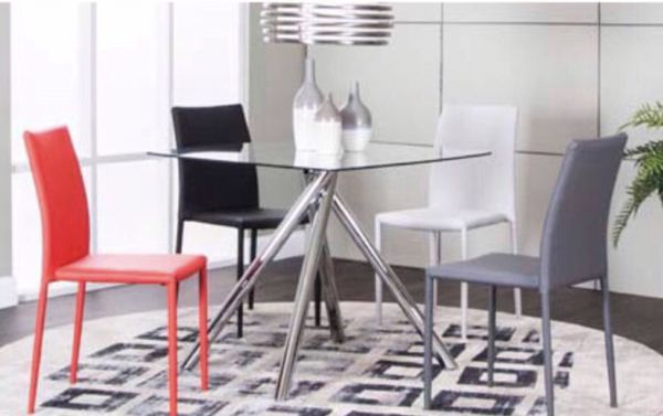 5 PC Color Dining Table Set NEW In Box