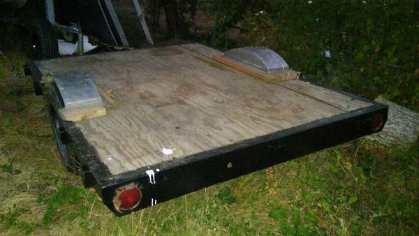 Single Axle Flatbed Trailer General In Mount Vernon