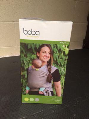 Boba Gray Baby Wrap