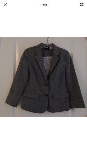 Women's BDG Gray Button Up Pocket Blazer Size Small