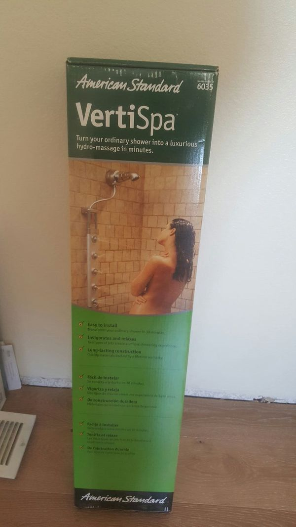 Hydro message for shower (Household) in Riverside, CA - OfferUp