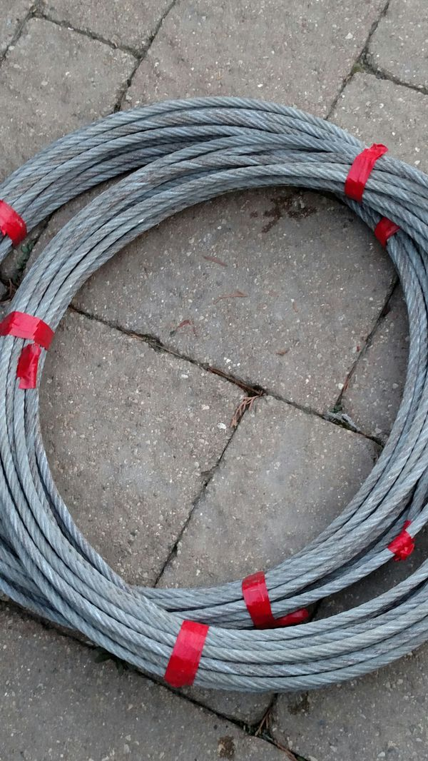 2 x 100\' Still wire cable (General) in Chicago, IL