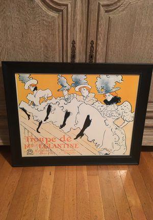 """Toulouse-Lautrec """"Troupe de Mille Eglantine"""" Framed Print"""