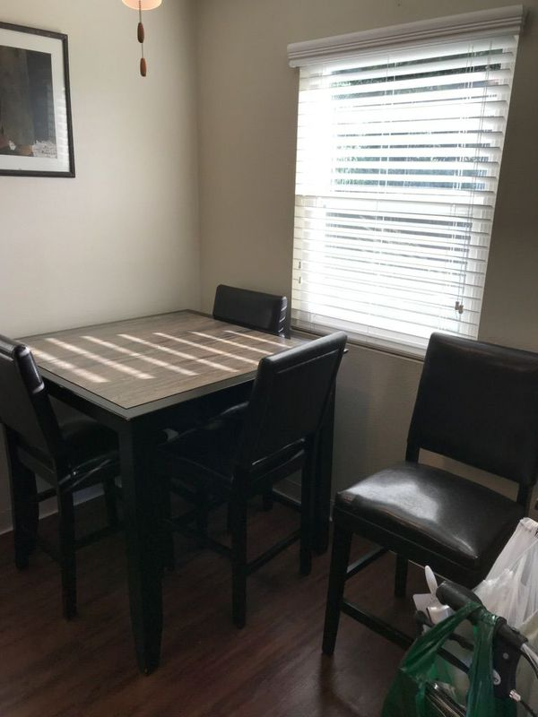 Nice Dark Brown Dining Room Set