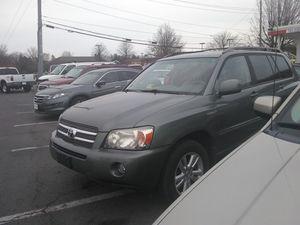 2007 Toyota Highlander hybrid limited AWD