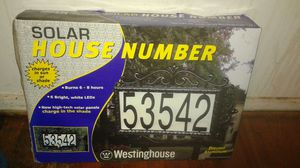 Solar house address