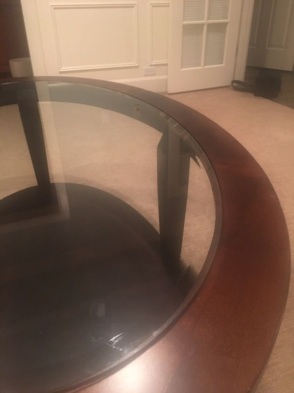 Glass Top Coffee Table Furniture In Sammamish Wa Offerup