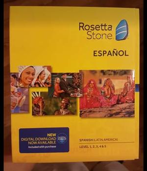 Rosetta Stone Spanish volumes 1 - 5