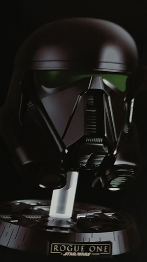 Rouge one limited edition death trooper helmet