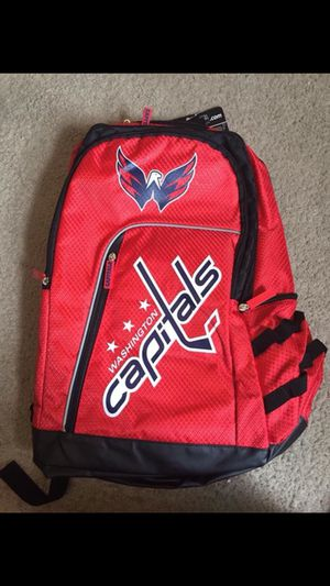 NHL Washington Capitals backpack