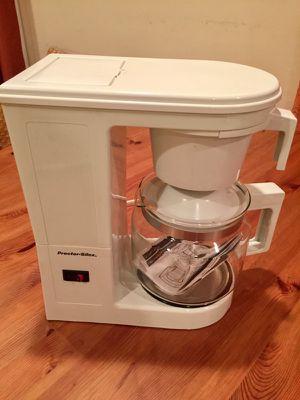 Proctor Silex coffee maker.